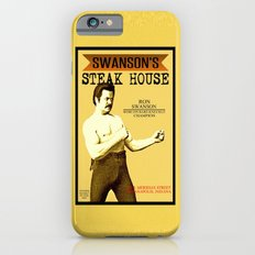 Ron Swanson  |  Steak House Parody |  Parks and Recreation iPhone 6s Slim Case