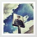 Checkpoint Charlie Art Print