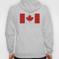 Canadian Flag  Hoody