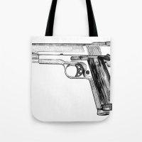 GUN Tote Bag
