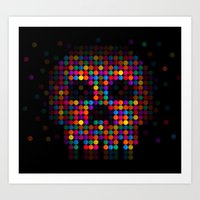 A Colorful Death By Qixe… Art Print