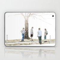 tree plus people Laptop & iPad Skin