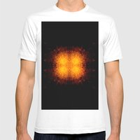 Fireball Mens Fitted Tee White SMALL