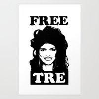 FREE TRE Art Print
