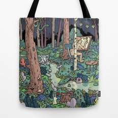 Artist in the Wild Tote Bag