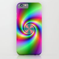 iPhone & iPod Case featuring Cross Spiral by Objowl