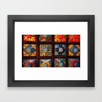 Niches Framed Art Print
