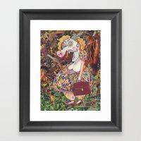 Mrs. Snorty Bum Framed Art Print