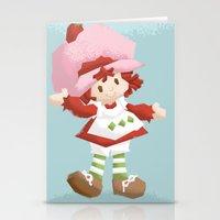 Strawberry Shortcake Stationery Cards