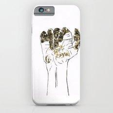 Golden hand iPhone 6s Slim Case