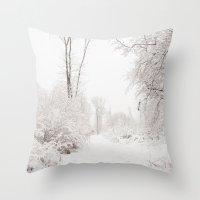 Joyeuses Fêtes! Throw Pillow