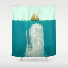 The Whale  Shower Curtain