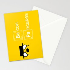 Making Bacon Pancakes Stationery Cards