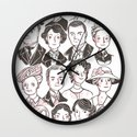 Downton Abbey Wall Clock