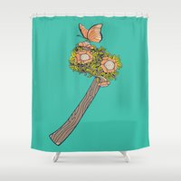 No Steel Today Shower Curtain