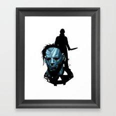 Halloween : Monster Madness Series Framed Art Print
