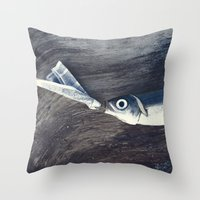 At The Bottom Of The See Throw Pillow