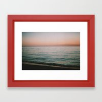 Fourteen Framed Art Print