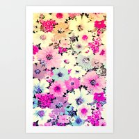 Vintage Flowers XXI - for iphone Art Print