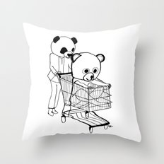 I bet that you look good on the dance floor… Throw Pillow