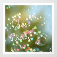 Chase Dreams Art Print