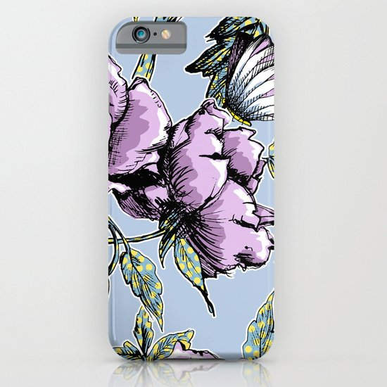 Summer Rose Garden iPhone & iPod Case