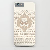iPhone & iPod Case featuring Knitted Dude by Leo Canham