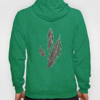 Feather Detail Hoody