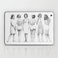 White Girls Laptop & iPad Skin