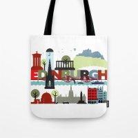 Edinburgh landmarks & monuments  Tote Bag