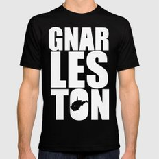 Gnarleston Black Mens Fitted Tee SMALL