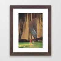 pneu Framed Art Print