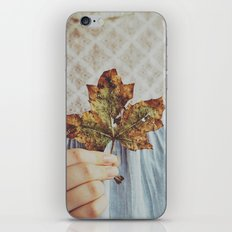 For The Love Of Autumn iPhone & iPod Skin