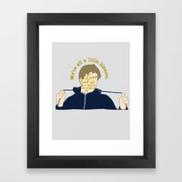 The Breakfast Club - Andrew Framed Art Print
