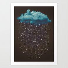 Let It Fall Art Print