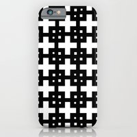 iPhone & iPod Case featuring Telder Black & White by Stoflab