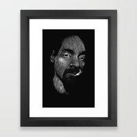 Snoop Dogg Framed Art Print