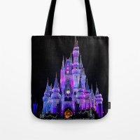 Walt Disney World Christmas Lights Tote Bag