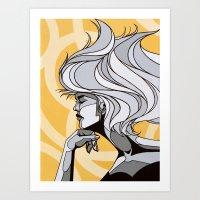 Miss Madeleine Art Print