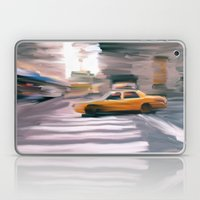 Taxi Cab. Laptop & iPad Skin