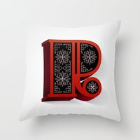 The Letter R Throw Pillow
