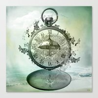 Timeless Flow Canvas Print