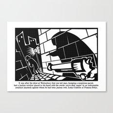 you're shot, major Canvas Print
