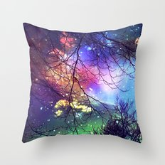 Look To The Stars Throw Pillow