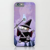 iPhone & iPod Case featuring Harold the Evil Necromancer by David Finley