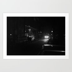 Amsterdam in the Dark Art Print