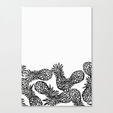 Pineapple candy Canvas Print