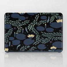 night waterlily iPad Case