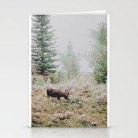 Moose 1 Stationery Cards