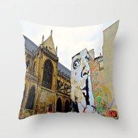 Paris….Shhhhh Throw Pillow
